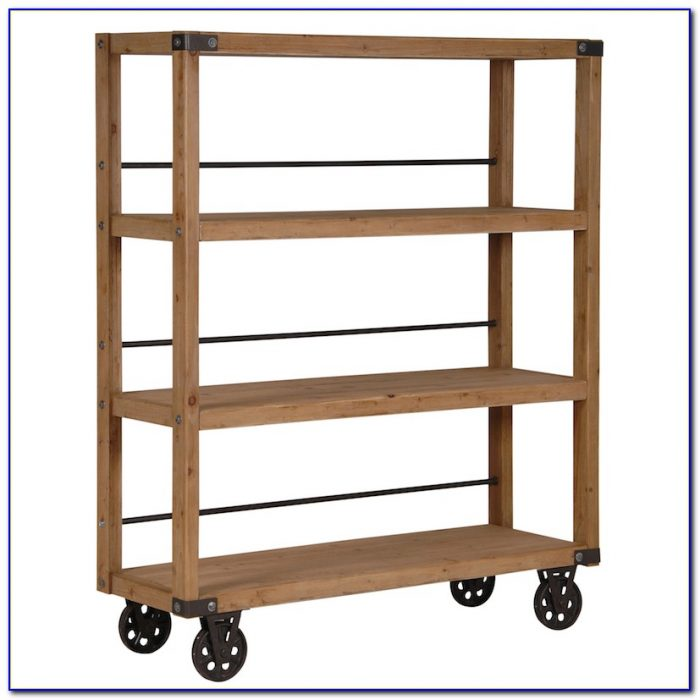 Small Bookcases On Wheels