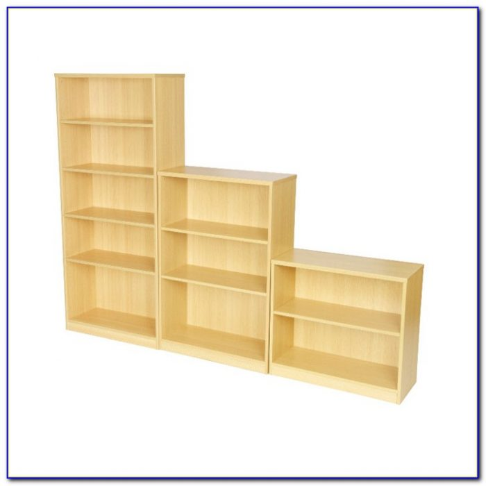 Small Light Oak Bookcase