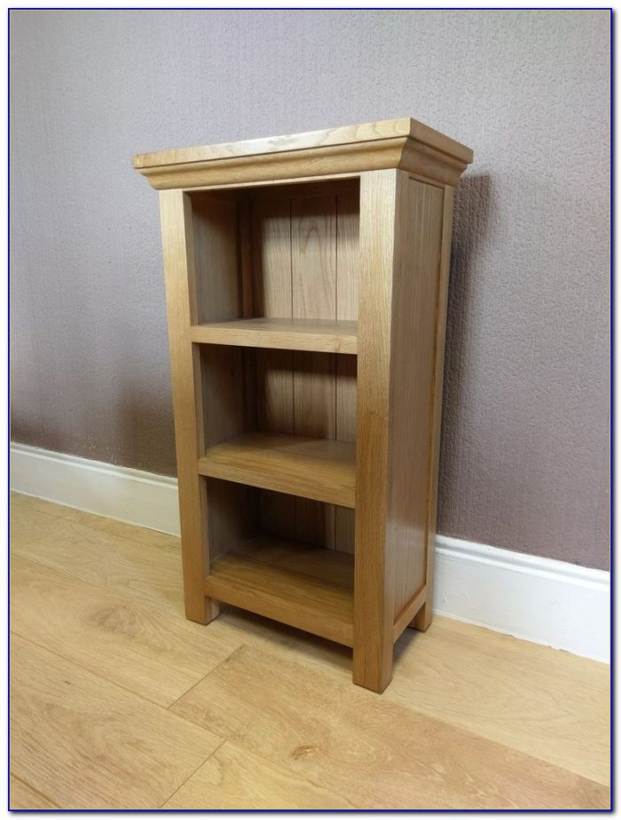 Small Narrow Bookcase With Doors