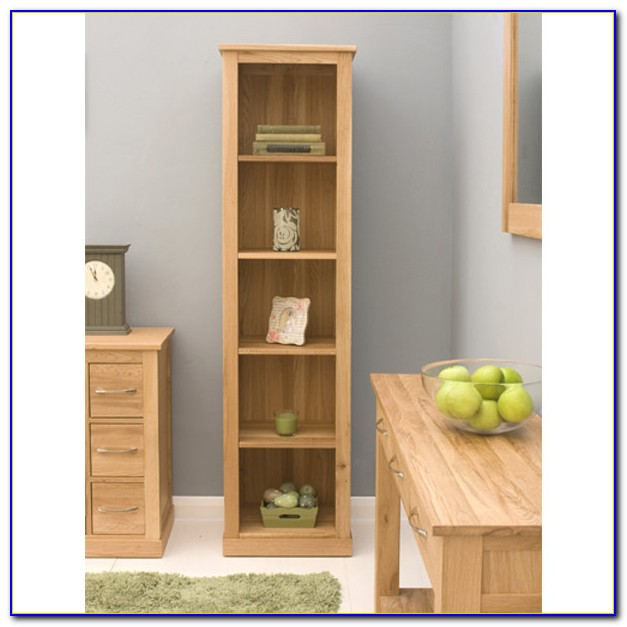 Short Narrow Shelves Bookcase Home Design Ideas