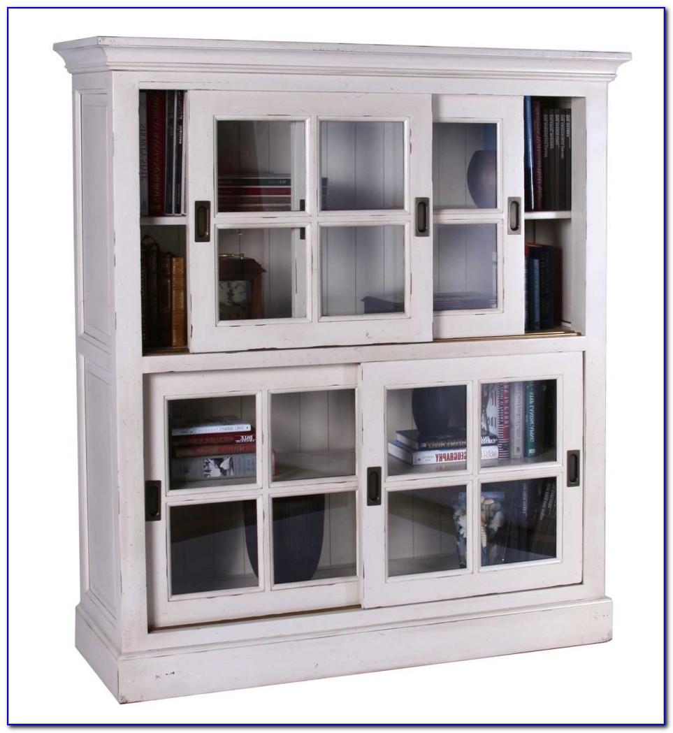 Small Sliding Glass Door Bookcase