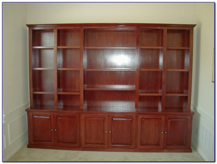 Solid Cherry Bookcase With Doors