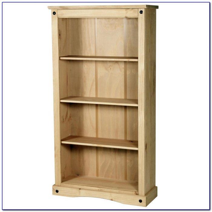 Solid Pine Bookcase Argos