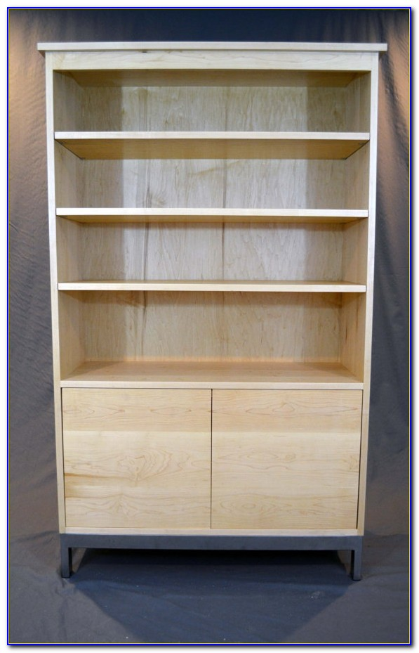 Solid Wood Maple Bookcase