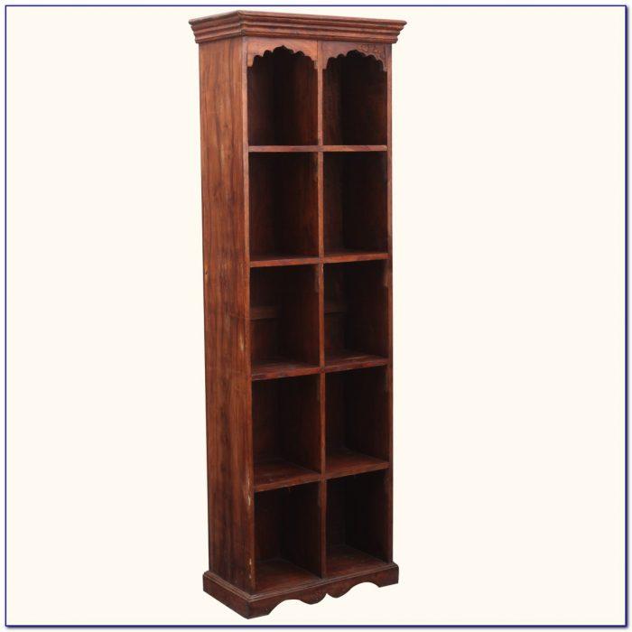 Solid Wood Room Divider Bookcase