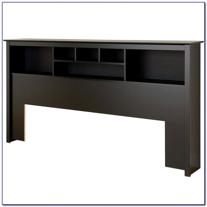 Sonoma King Size Bed Bookcase Headboard