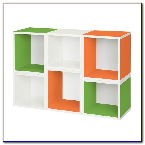 Stackable Cube Bookcase