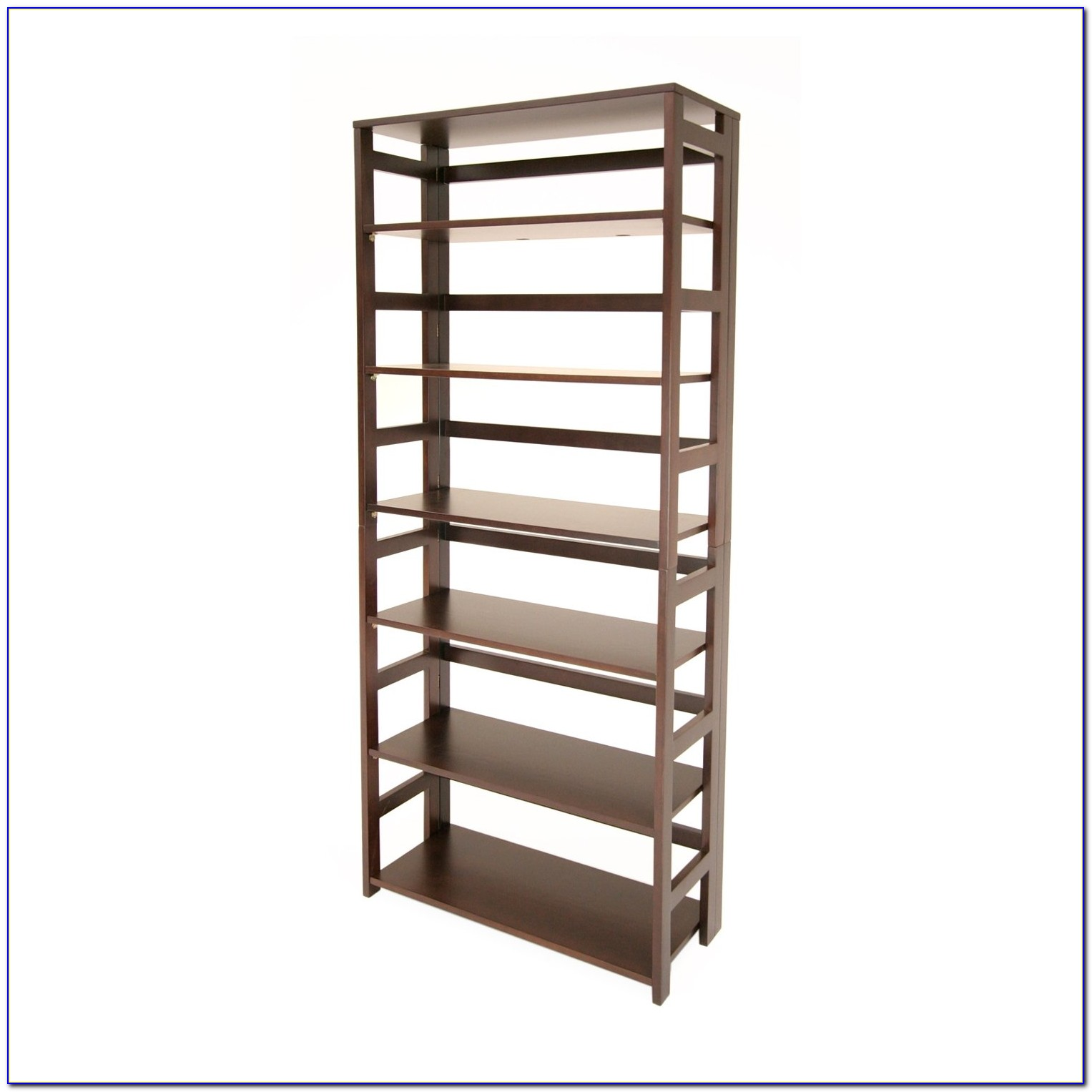 Stackable Folding Bookcase Natural