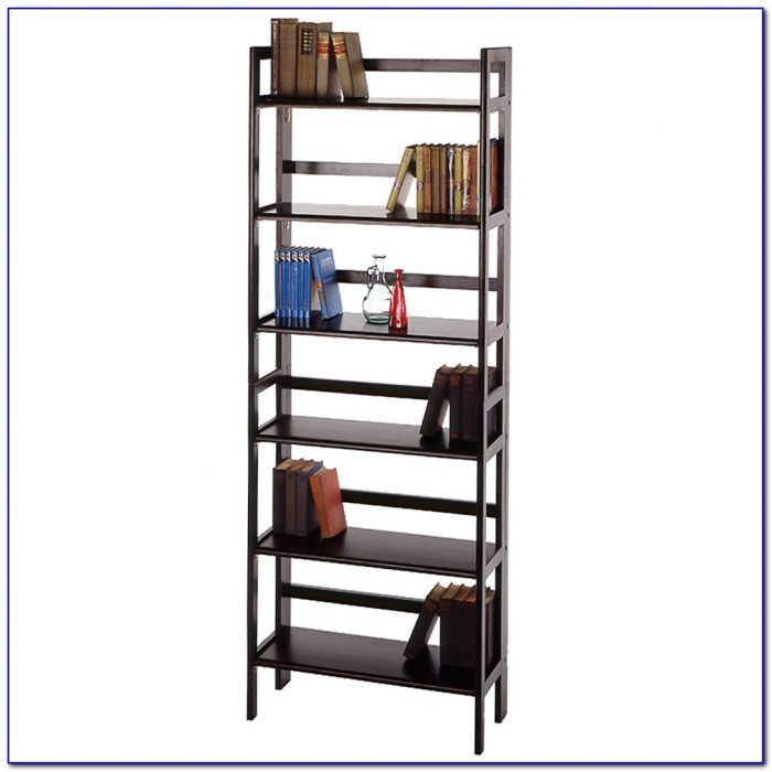 Stackable Folding Wood Bookcase