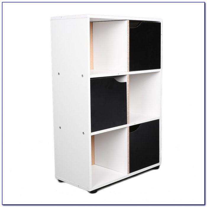 Storage Cube Wood Bookcase
