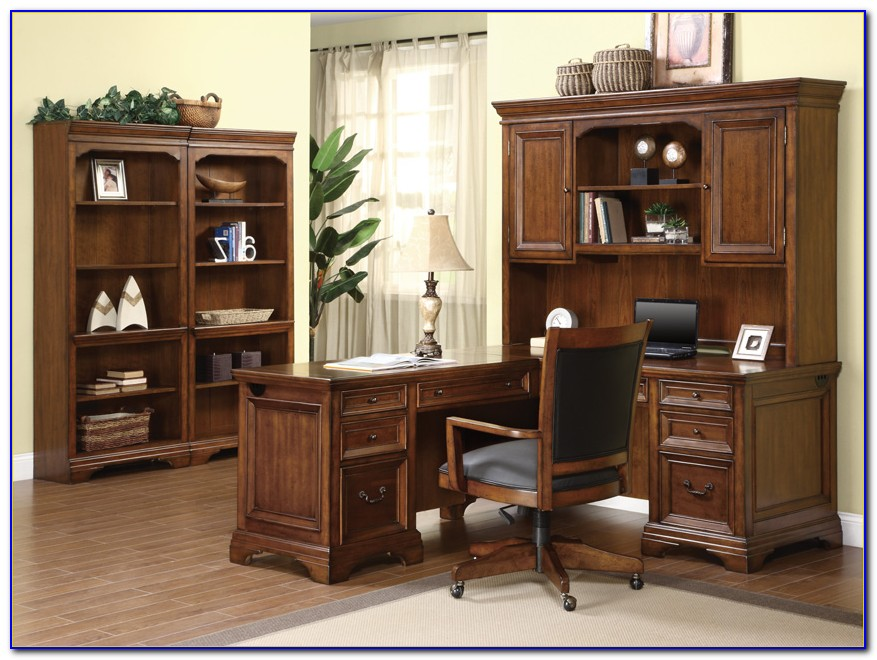 Student Desk With Bookcase Hutch