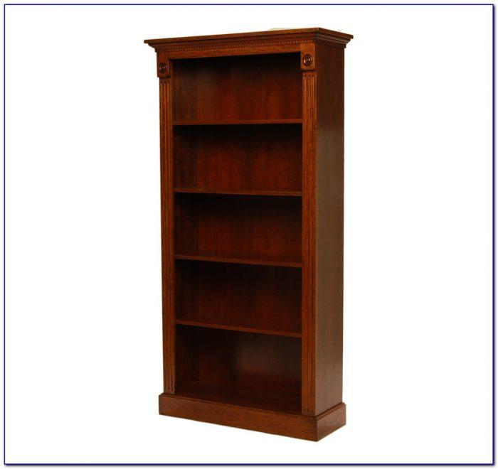 Tall Mango Wood Bookcase