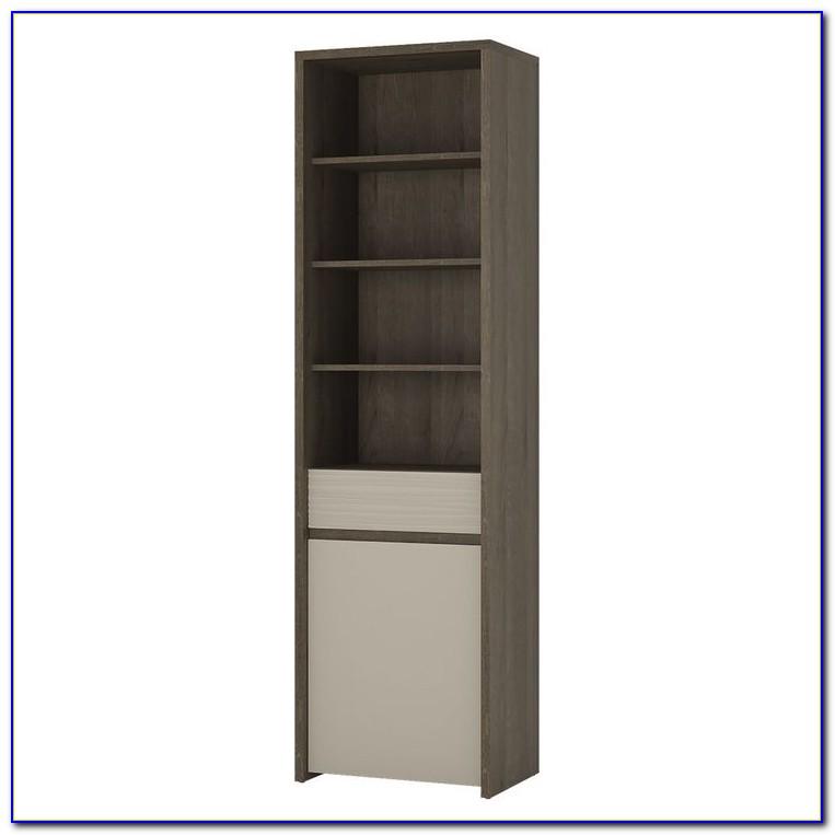Tall Narrow Black Bookcases