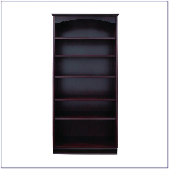 Tall Wide Bookcase Black