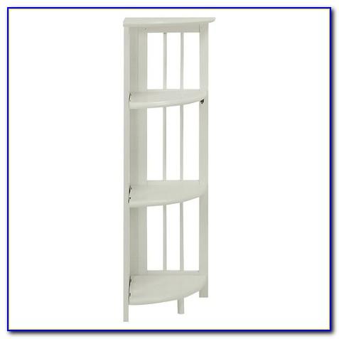 Target Corner Bookcase White