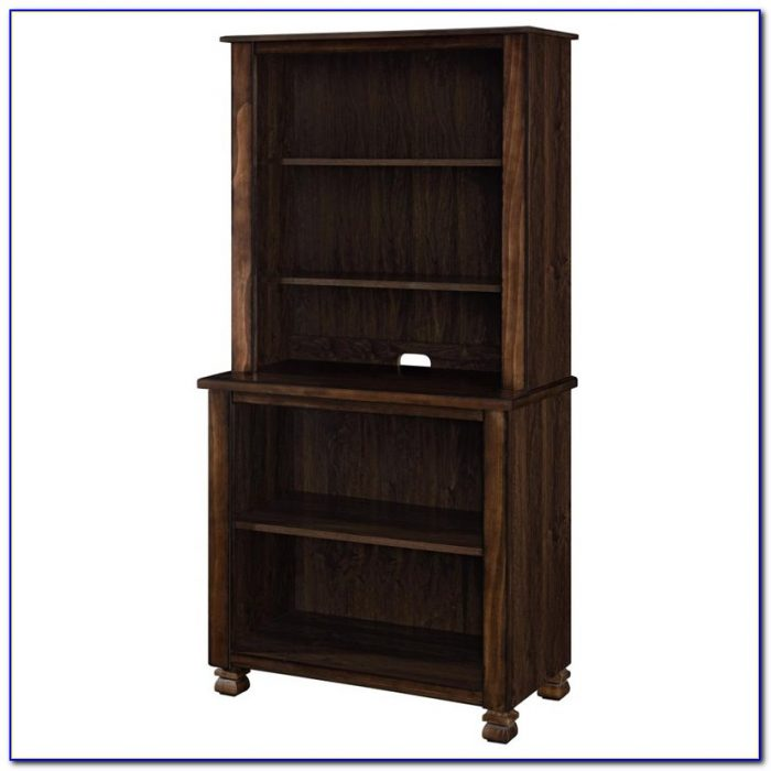 Threshold 5 Shelf Bookcase Espresso