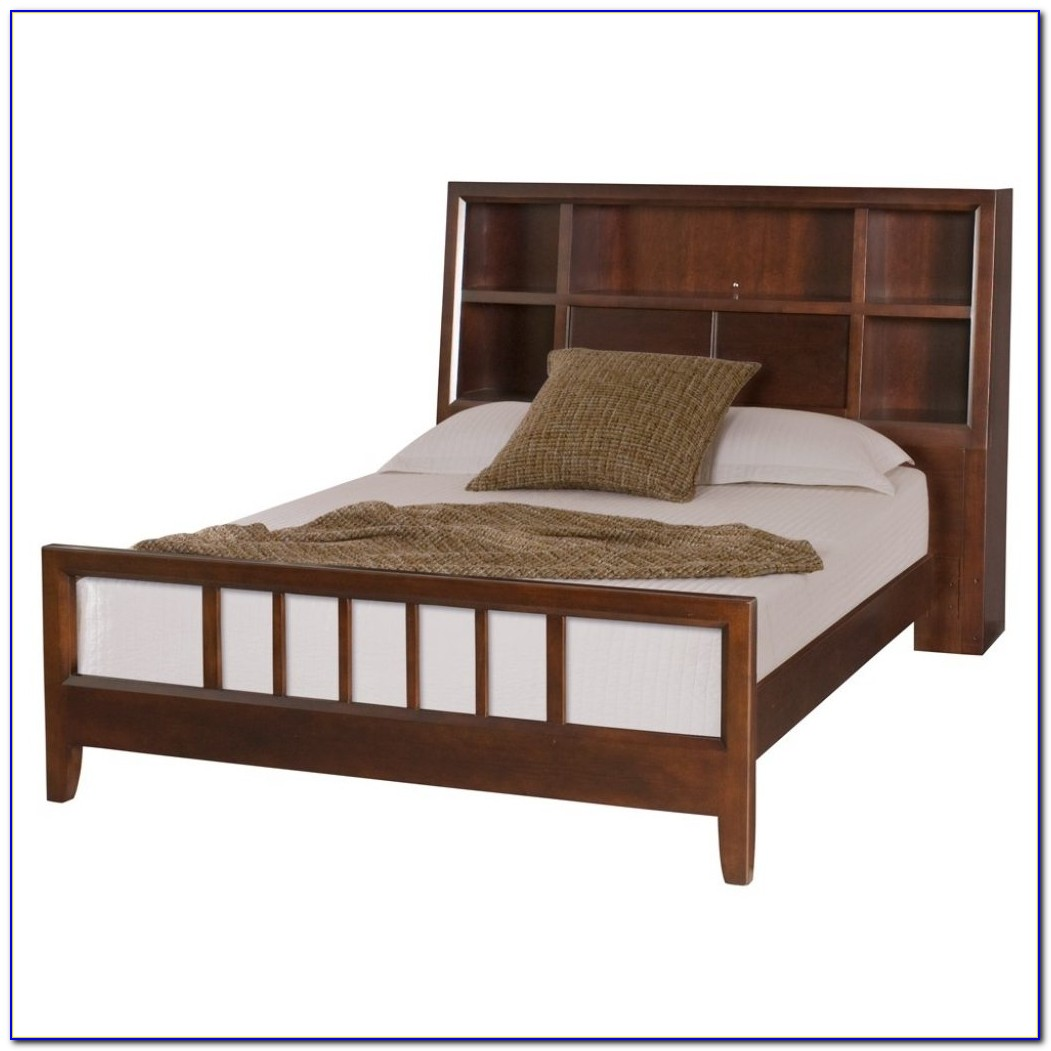 Twin Beds With Bookcase Headboards