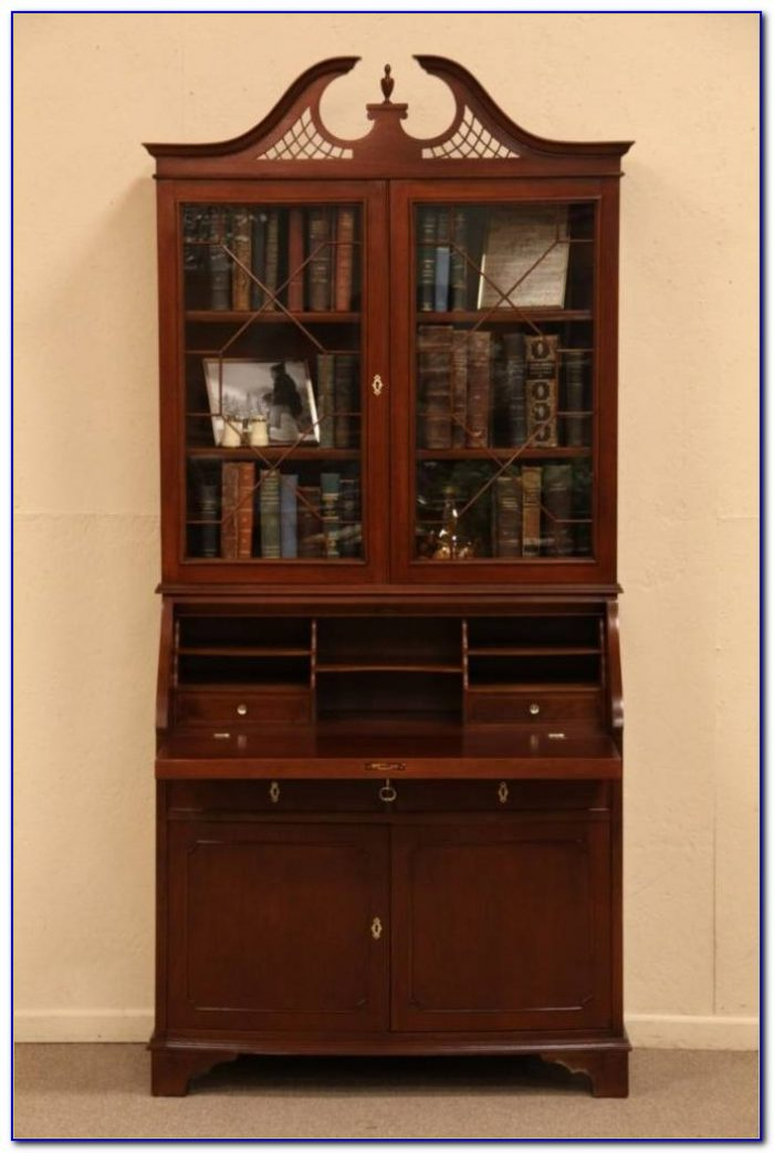 Victorian Secretary Desk Bookcase
