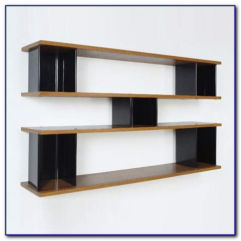 Wall Mounted Bookcase Bedroom