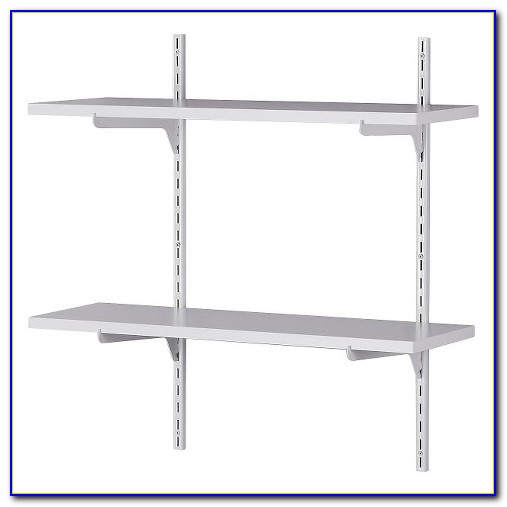 White Bookcase With Adjustable Shelves