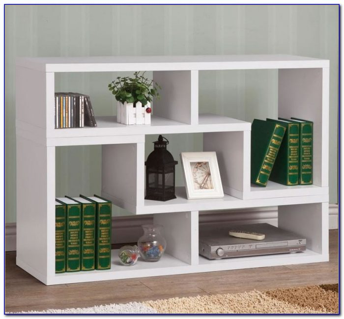 White Contemporary Bookcase