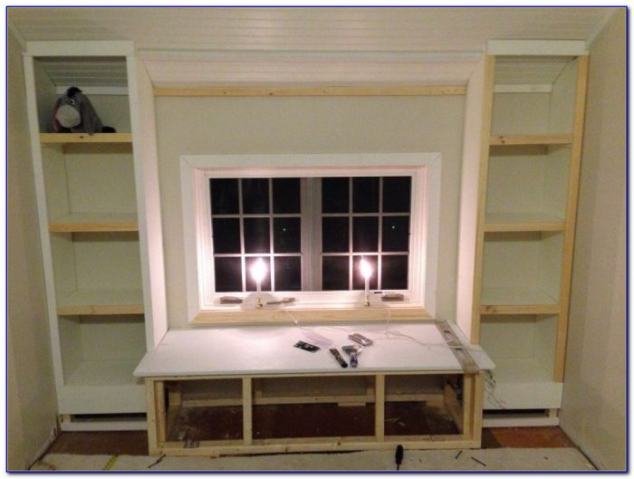 Window Seat Bookcase Ideas