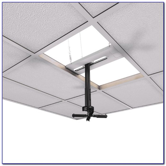 2x2 Drop Ceiling Projector Mount