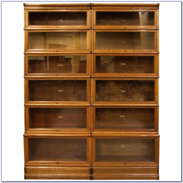 Antique Stackable Barrister Bookcase