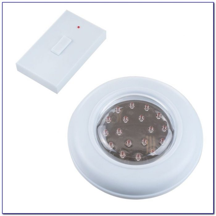 Battery Operated Ceiling Light With Remote