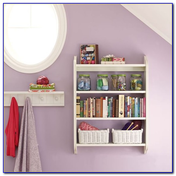 Beadboard Wall Shelves