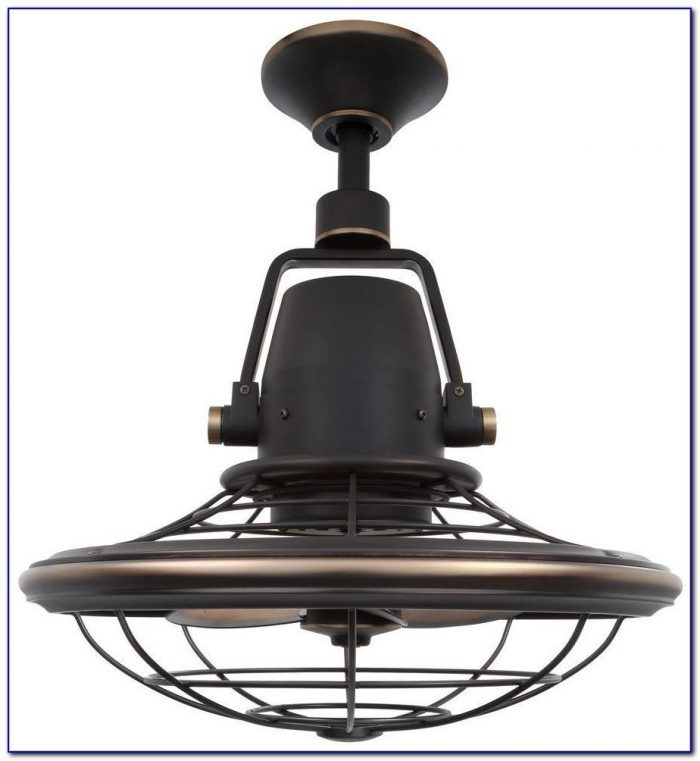 Bentley Ii Outdoor Natural Iron Oscillating Ceiling Fan