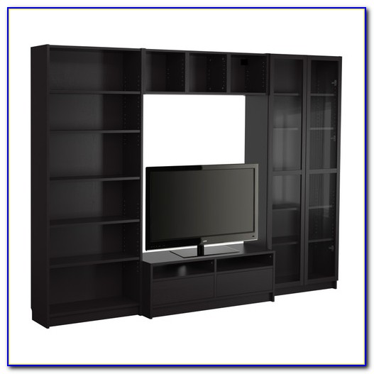 Black And White Ikea Billy Bookcase