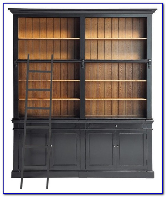 Bookcase And Cabinet Combination