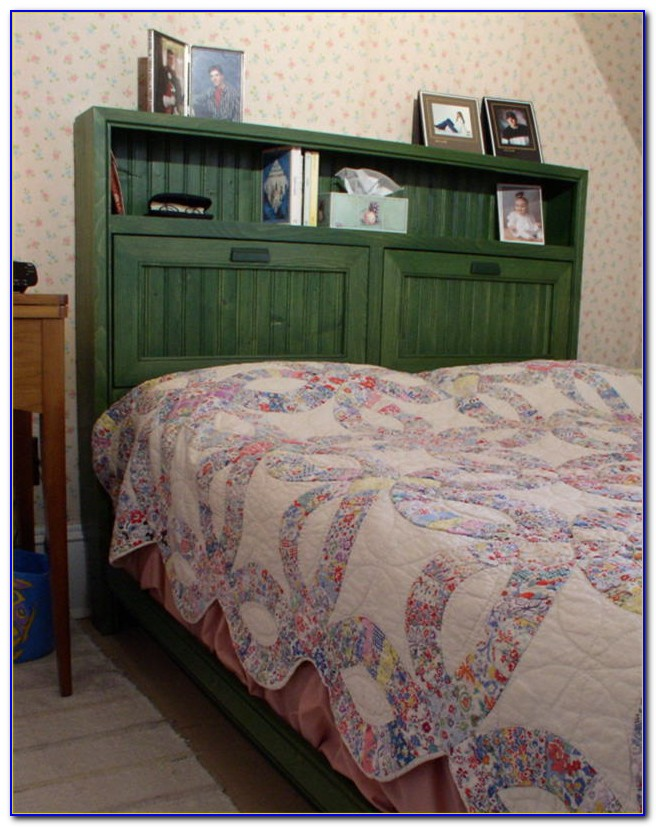 Bookcase Bed Headboard