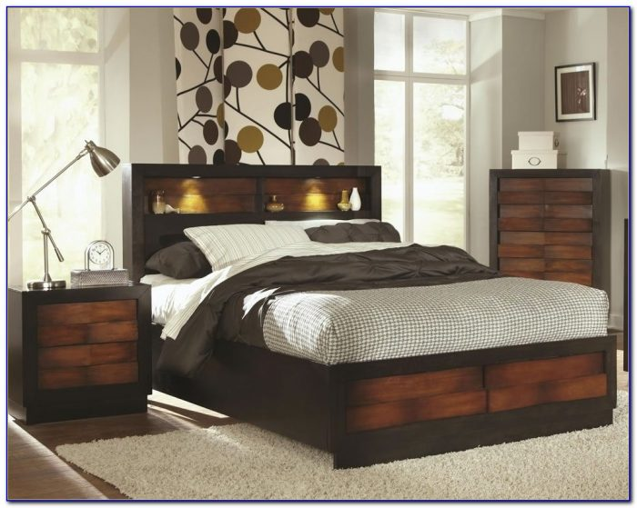 Bookcase Beds Queen Size