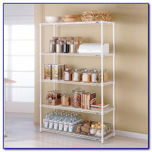 Bookcase Kitchen Wallpaper