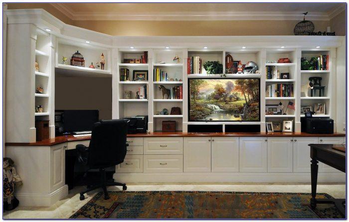 Bookcase Tv Wall Unit