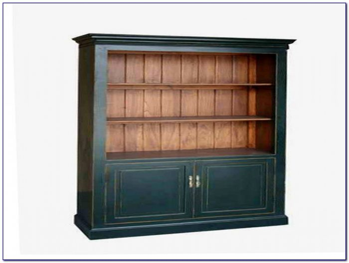 Bookcase With Cupboard And Drawers