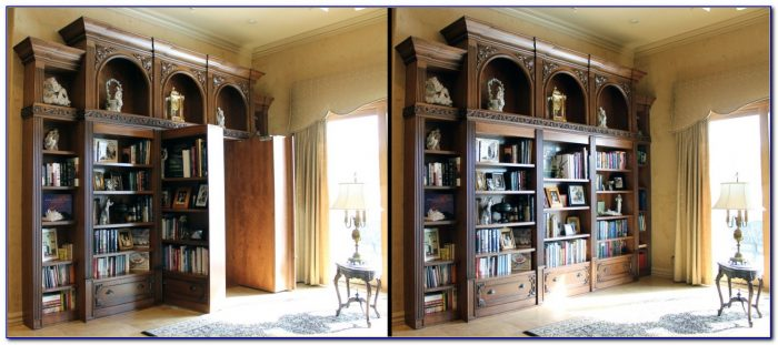 Build Secret Passage Bookcase
