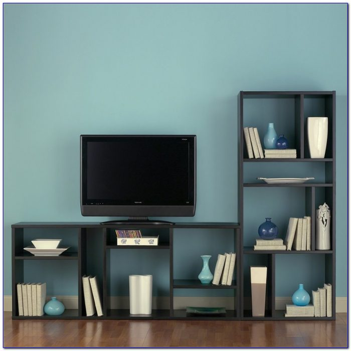 Built In Bookcase Tv Cabinet