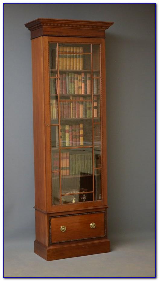 Canopy Tall Bookcase Mahogany