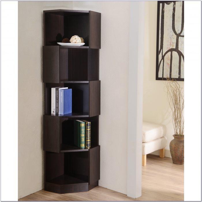 Carson Corner Bookcase Espresso