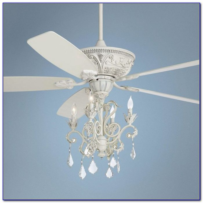 Ceiling Fan With Chandelier For Girl