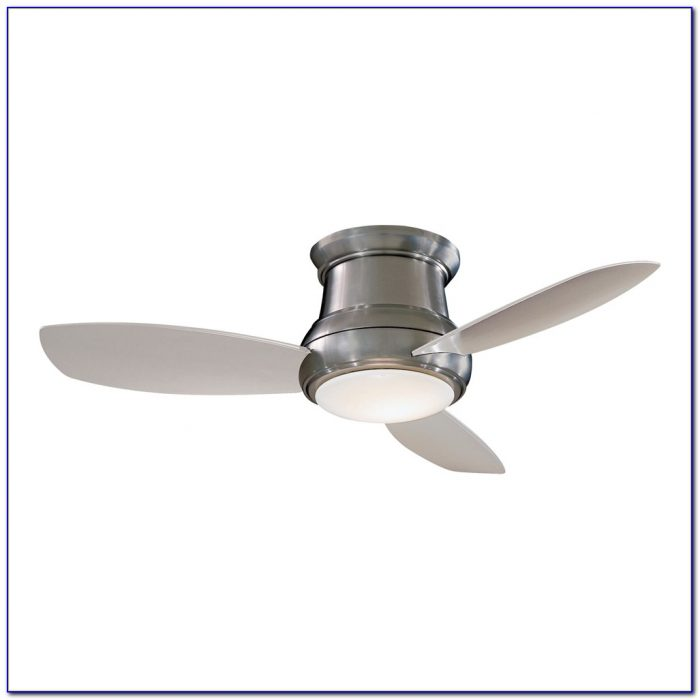 Ceiling Fans Flush Mount No Lights
