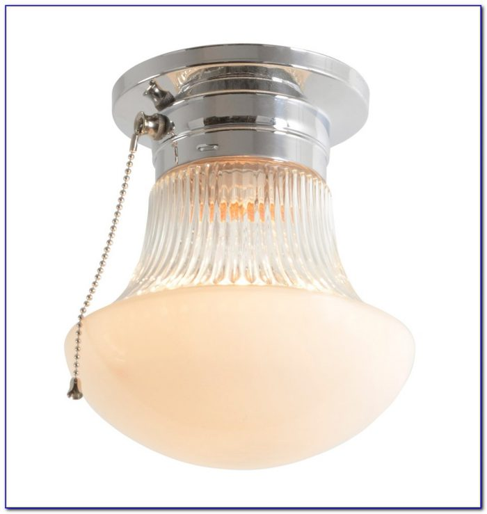 Overhead Light Fixtures With Pull Chain Ceiling Home