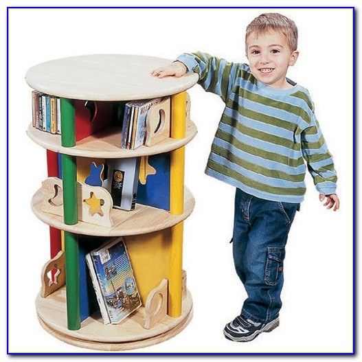 Children's Revolving Bookcase