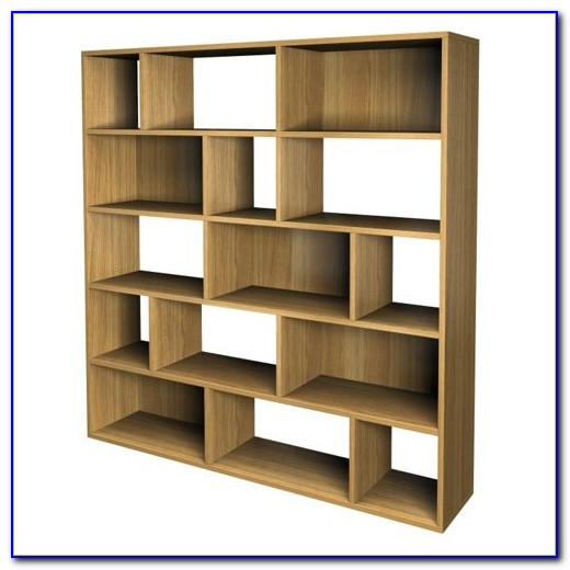 Contemporary Light Oak Bookcases Bookcase Home Design