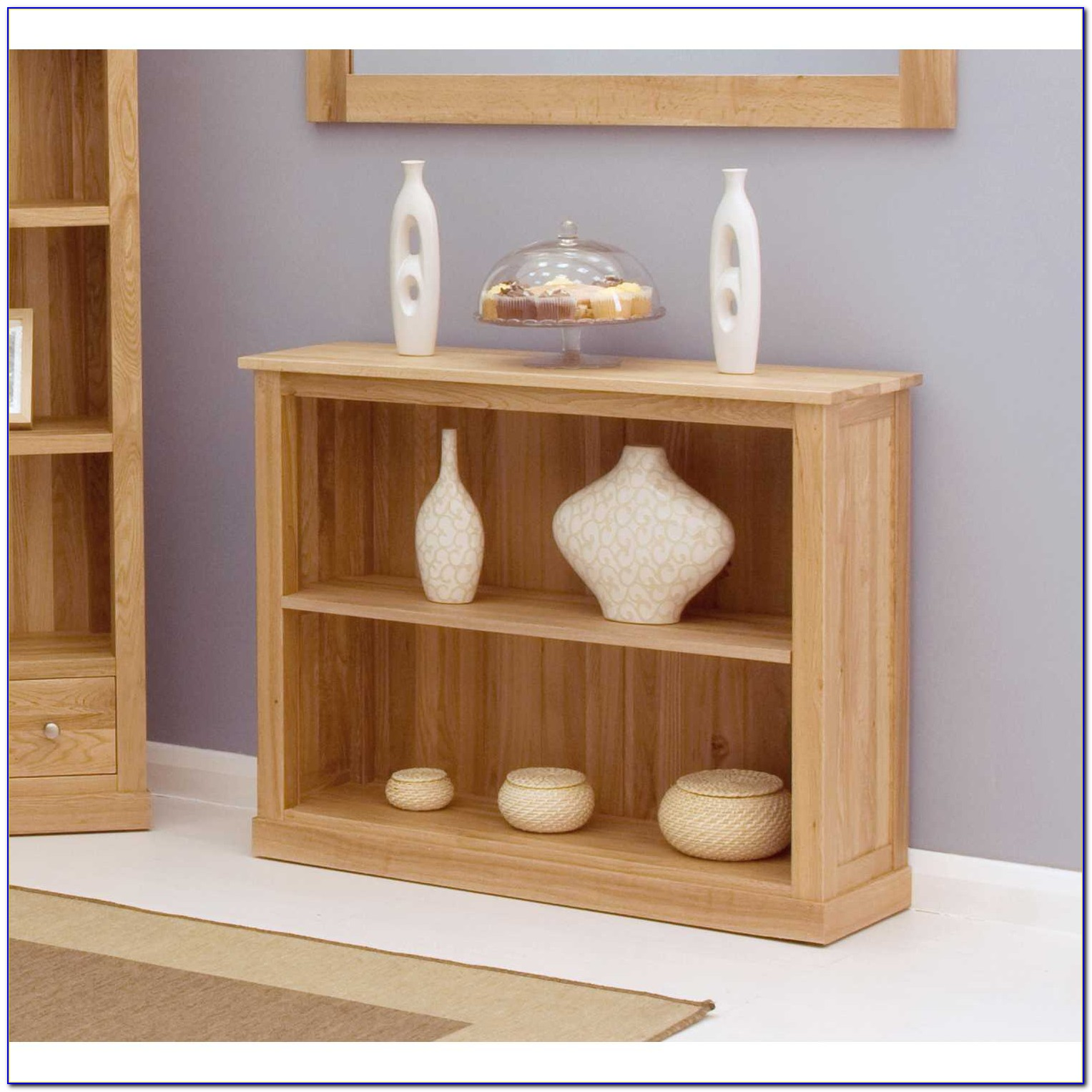 Contemporary Oak Bookshelf