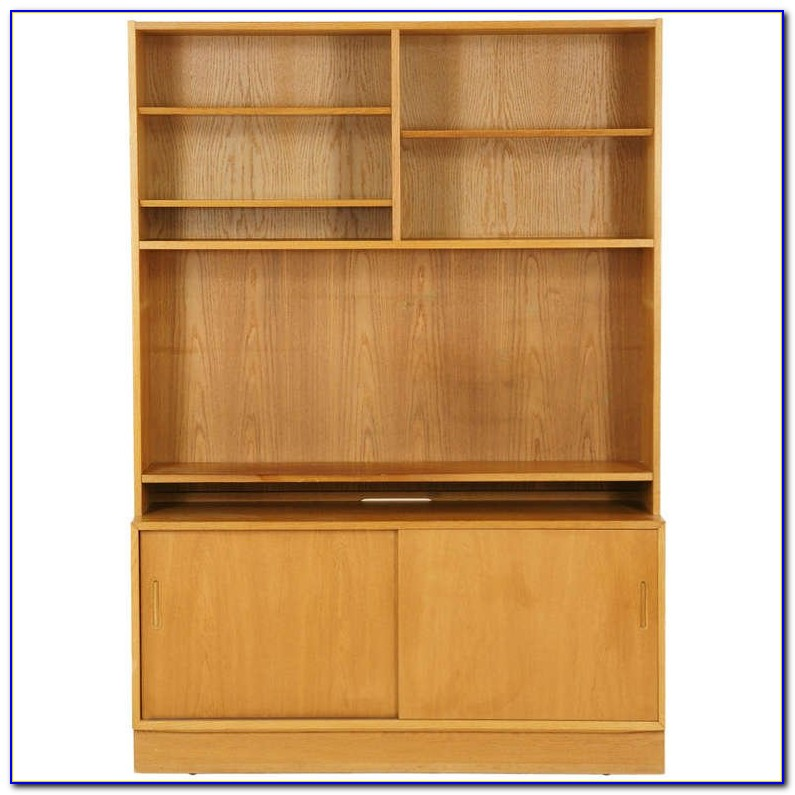 Contemporary Oak Bookshelves