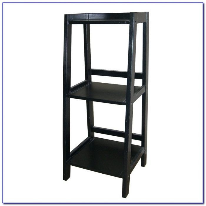 Corner Bookcase Espresso Finish
